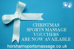 Christmas Sports Madssage Vouchers